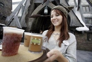 butterbeer 300x203 New Photos from HarryPotterland!