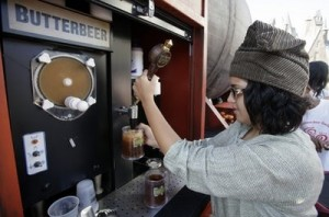 butterbeer dispenser 300x198 New Photos from HarryPotterland!