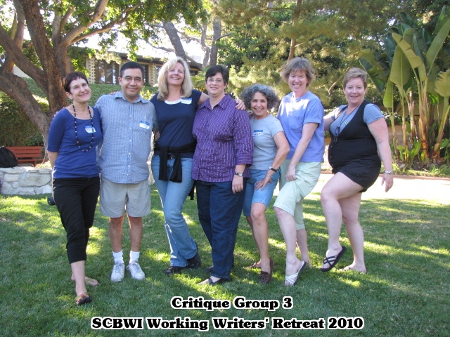 CG 3 formal SCBWI LA Working Writers Retreat   CLASS of 2010