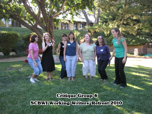 CG 6 informal SCBWI LA Working Writers Retreat   CLASS of 2010