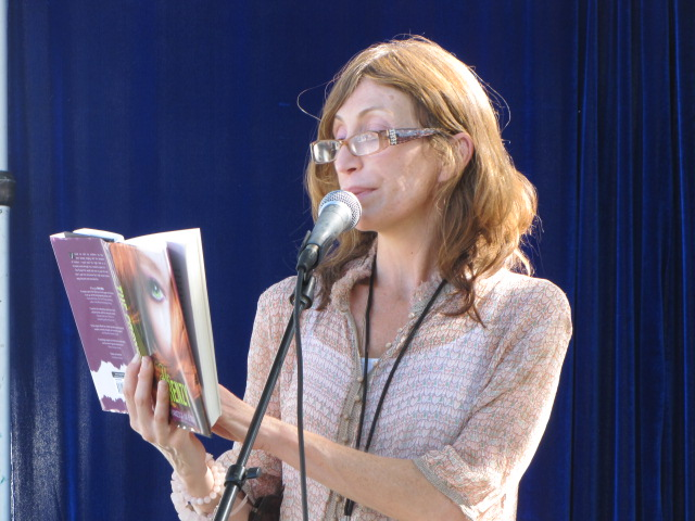 francesca lia block reading West Hollywood Bookfair 2010
