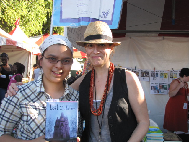 with carolyn cohagan IMG 7405 Author Advice   West Hollywood Bookfair 2010