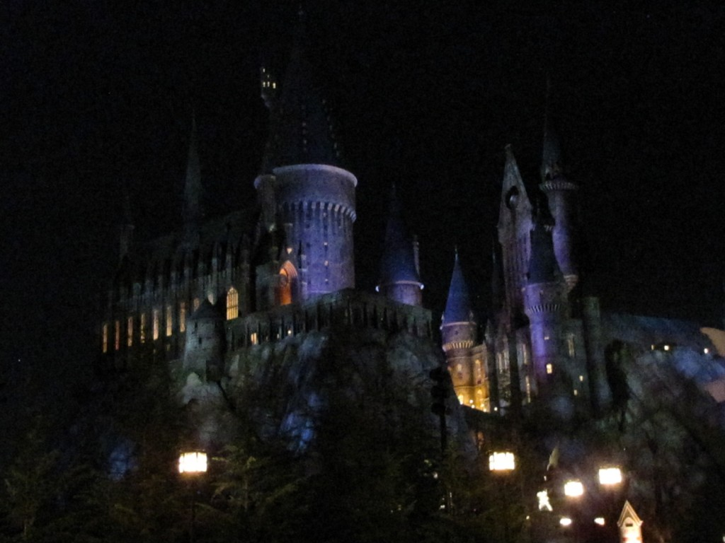 castle at night 1024x768 The Wizarding World of Harry Potter Part 2