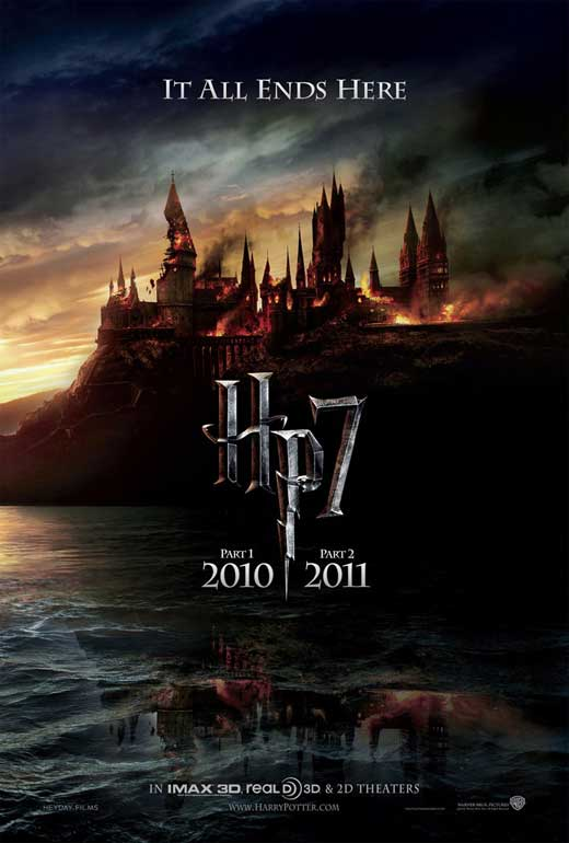 harry potter and the deathly hallows part i movie poster 1020551865 Harry Potter Week