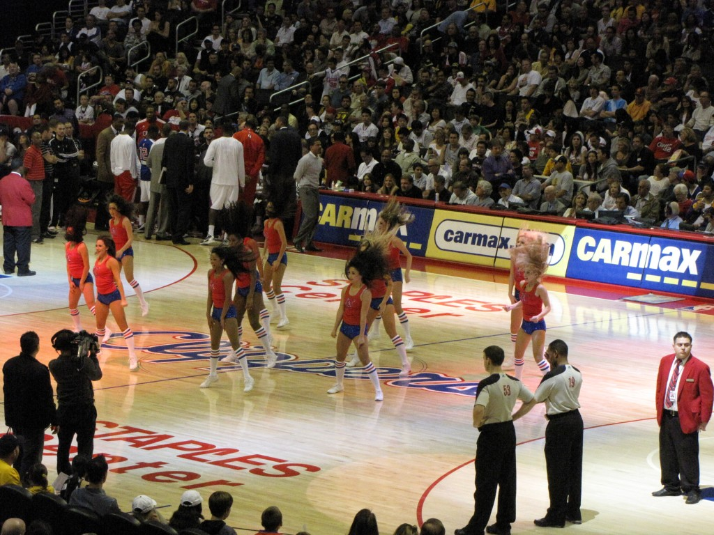 clippers spirit team 1 1024x768 One Awesome Sunday – Urth Caffe, Lakers vs Clippers, San Antonio Winery