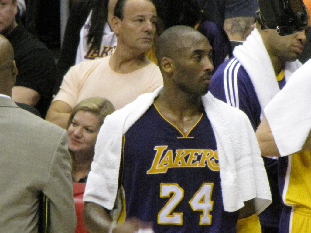 kobe2 1024x768 One Awesome Sunday – Urth Caffe, Lakers vs Clippers, San Antonio Winery