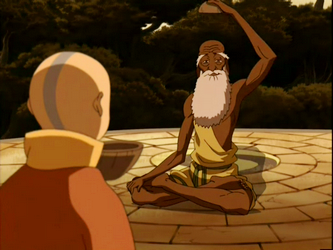 Aang and Guru Pathik The Mentor Archetype