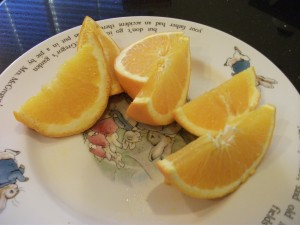 sliced oranges 300x225 My Super Aunt Saves the Day
