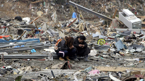 470 employees return japan quake 110315 Perspective, and Japans Tragedy