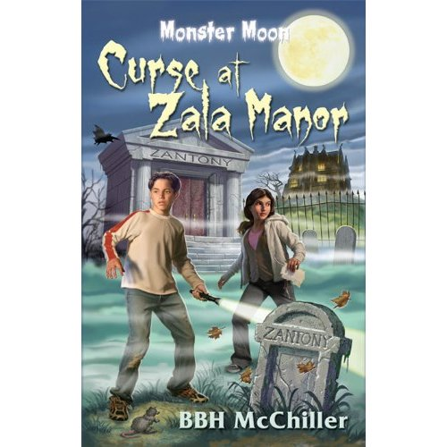510aQUjcPYL. SS500  Monster Moon Week: Book Review of Curse at Zala Manor