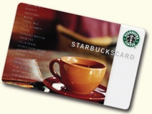 starbucks card 300x225 Characters Count Contest Winners