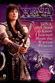 all i need to know i learend from xena A Z Day 24: Xena