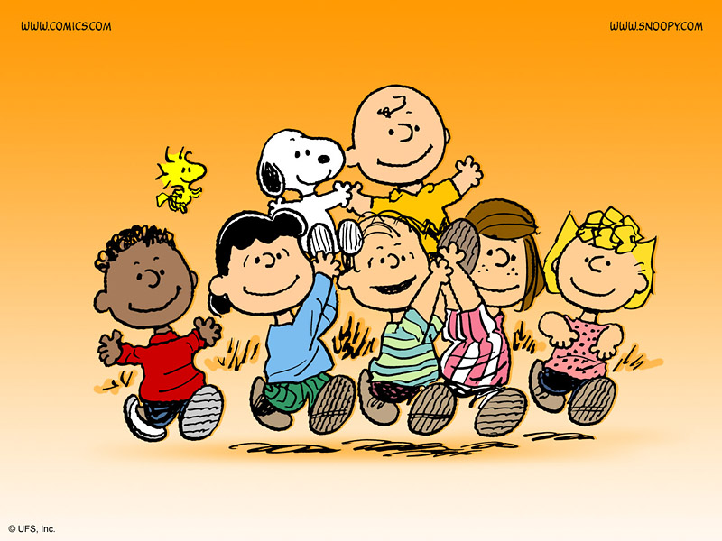 the peanuts gang   800x600 A Z Day 6: Of Followers and Friends
