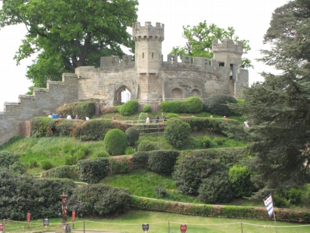 beautiful ramparts England Day 2 Part 1: Warwick Castle