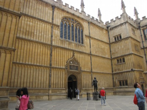 bodleian 1 modified England Day 2 Part 3: Oxford and the End of the First Tour