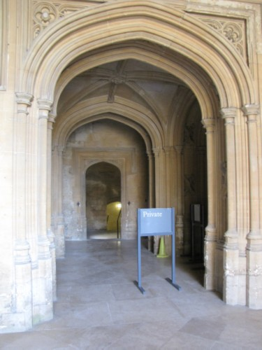 christ church arches England Day 2 Part 3: Oxford and the End of the First Tour