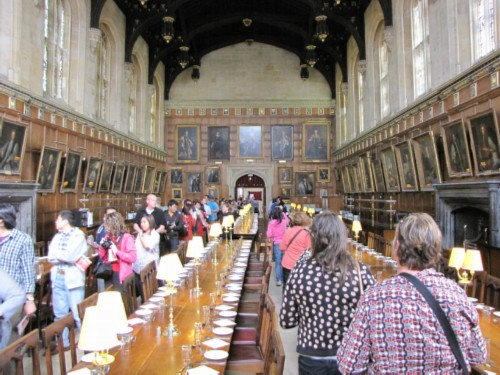 hogwarts dining hall modified England Day 2 Part 3: Oxford and the End of the First Tour