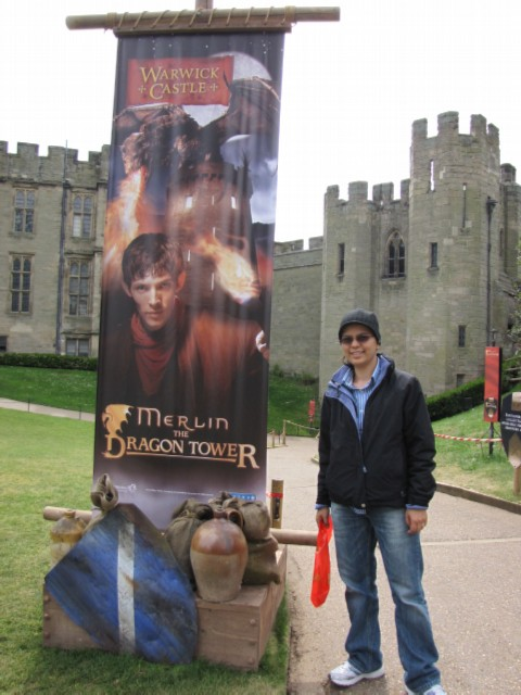 merlin tower England Day 2 Part 1: Warwick Castle