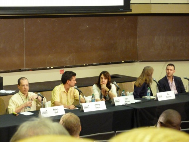 publishing panel LA Times Festival of Books at USC