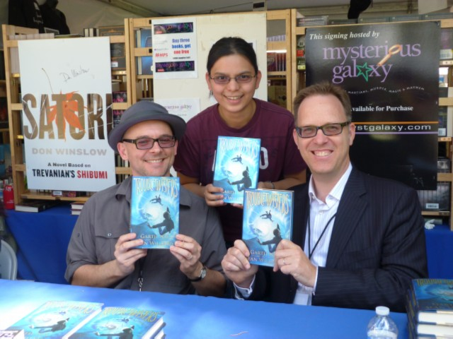 with troubletwister authors LA Times Festival of Books at USC