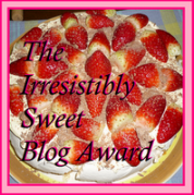 7 Irresistably sweet blog award susan oloier 7   Irresistably sweet blog award susan oloier