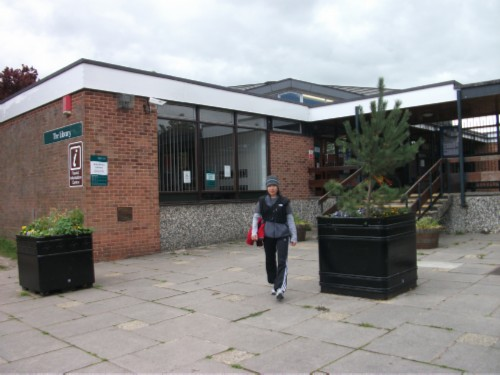 amesbury library outside England Day 8 Part 2: Amesbury