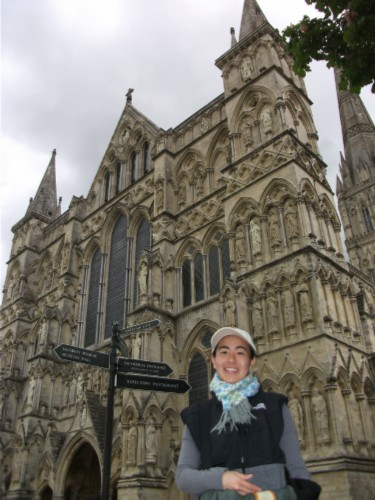 angles 2 England Day 7 Part 2: Conquering my Fears at Salisbury Cathedral