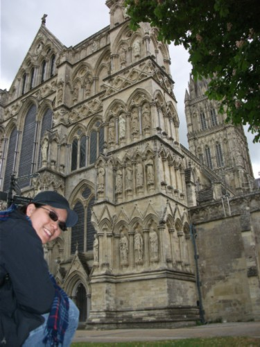 angles England Day 7 Part 2: Conquering my Fears at Salisbury Cathedral