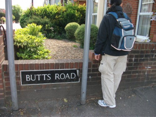 butts road England Day 6 Part 1: First Day in Salisbury