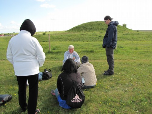 by the barrows England Day 6 Part 2: Stonehenge Special Access Tour and Dinner at Da Vincis