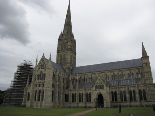 cathedral England Day 7 Part 2: Conquering my Fears at Salisbury Cathedral