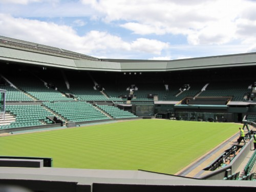 centre court England Day 9: Wimbledon
