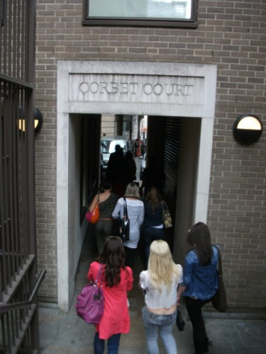 corbert court England Day 4 Part 2: London Walks Harry Potter Tour