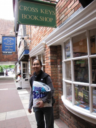 cross keys bookshop England Day 7 Part 2: Conquering my Fears at Salisbury Cathedral