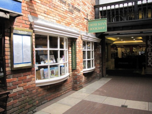 cross keys bookstore England Day 6 Part 1: First Day in Salisbury