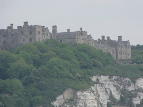 dover castle close up England Day 3 Part 2: Dover Stopover