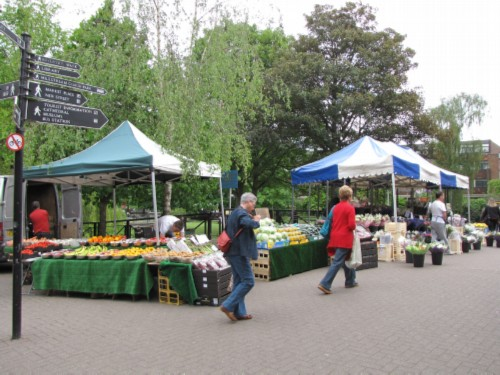 farmers market at maltings England Day 7 Part 1: Salisbury Day 2