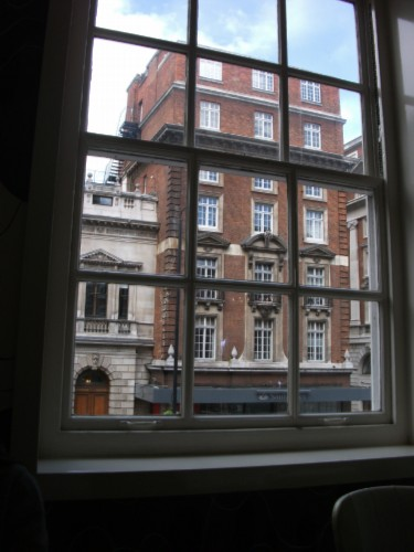 fortnum and mason view from window England Day 4 Part 1: Piccadilly Street, London