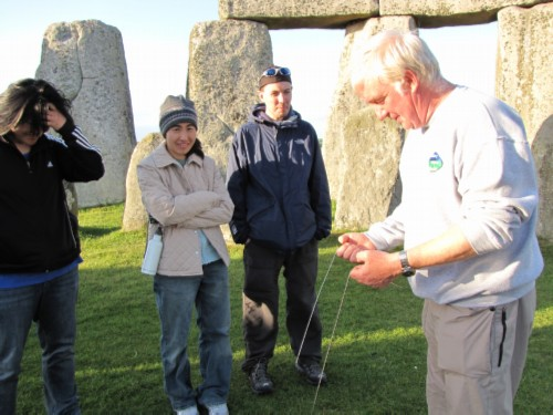 laylines England Day 6 Part 2: Stonehenge Special Access Tour and Dinner at Da Vincis