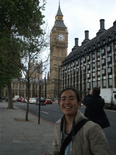maiko and big ben England Day 3 Part 4: Greenwich, London and the River Thames Cruise