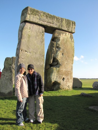maiko and me by trilithon England Day 6 Part 2: Stonehenge Special Access Tour and Dinner at Da Vincis