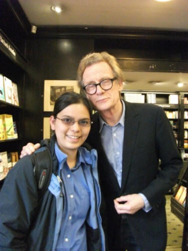 me and bill nighy England Day 4 Part 1: Piccadilly Street, London