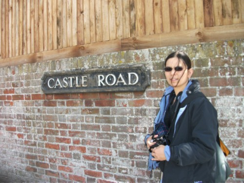 me at castle road England Day 6 Part 1: First Day in Salisbury