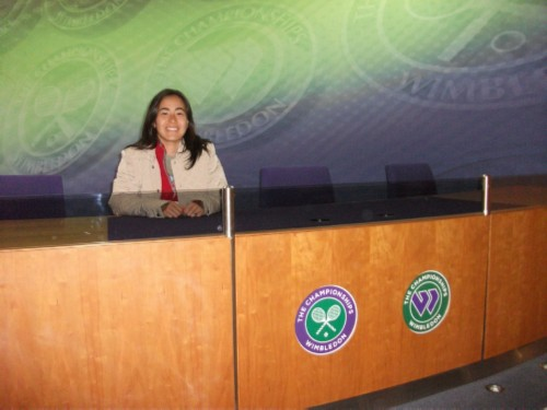 media room England Day 9: Wimbledon