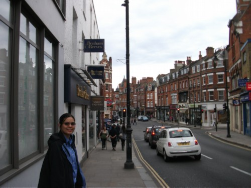 on heath street England Day 4 Part 3: Hampstead