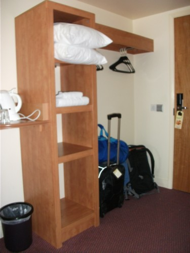 premier inn shelf England Day 9: Wimbledon