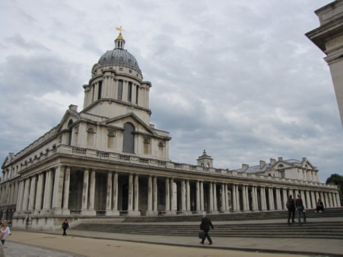 royal naval college England Day 3 Part 4: Greenwich, London and the River Thames Cruise