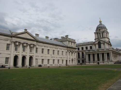 royal naval college2 England Day 3 Part 4: Greenwich, London and the River Thames Cruise