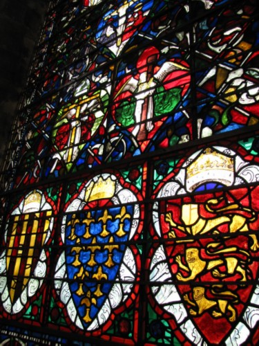 stained glass window England Day 7 Part 2: Conquering my Fears at Salisbury Cathedral
