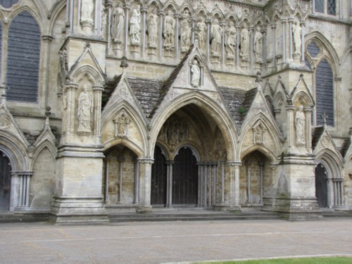 statues England Day 7 Part 2: Conquering my Fears at Salisbury Cathedral